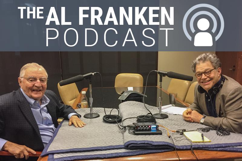 Al Franken with Walter Mondale