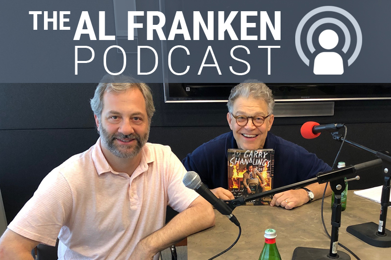 Judd Apatow and Al Franken