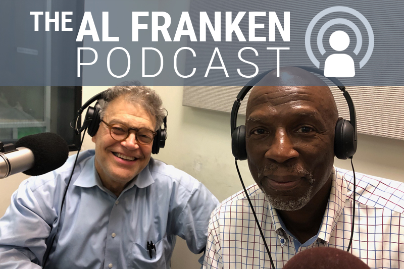 Al Franken and Geoffrey Canada