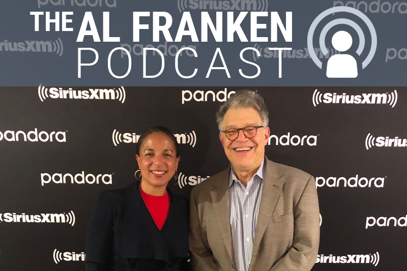 Al Franken and Susan Rice