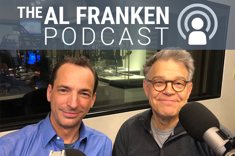 Paul Rough and Al Franken