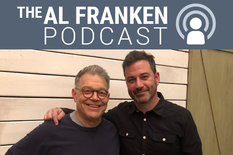 Al Franken and Jimmy Kimmel