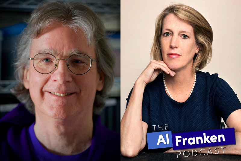 Zephyr Teachout and Roger McNamee